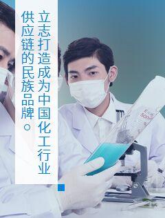 立志打造成为中国化工行业供应链的民族品牌